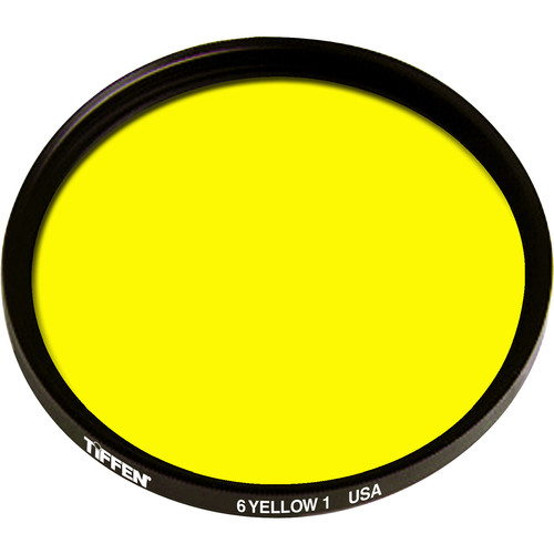 "Tiffen 4.5"" Round Light Yellow 1 #6 Filter"