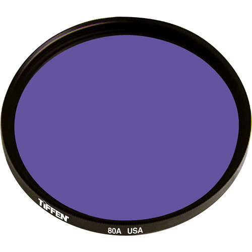 "Tiffen 4.5"" Round 80A Color Conversion Filter"