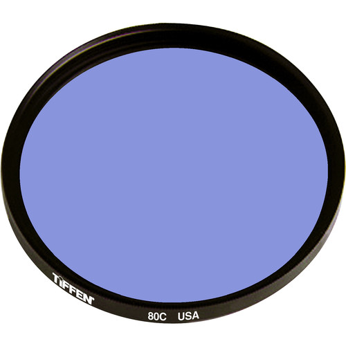 "Tiffen 4.5"" Round 80C Color Conversion Filter"