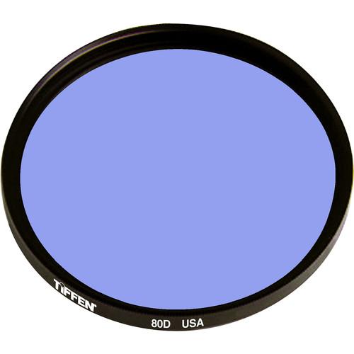 """Tiffen 4.5"""" Round 80D Color Conversion Filter"""