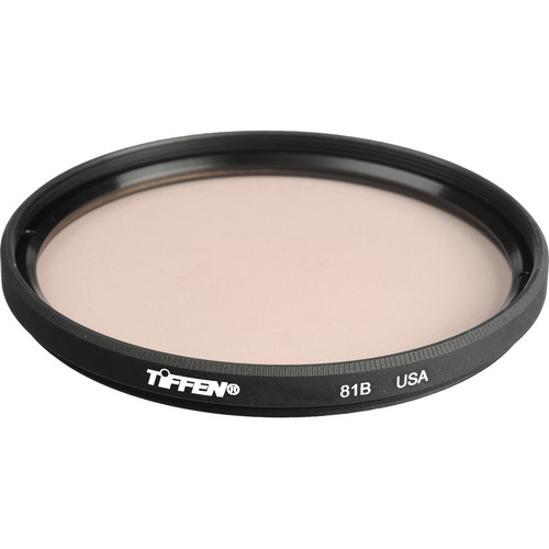 """Tiffen 4.5"""" Round 81B Light Balancing Filter"""