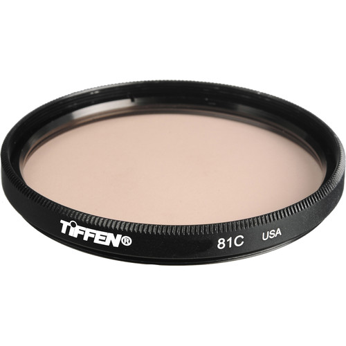 "Tiffen 4.5"" Round 81C Light Balancing Filter"