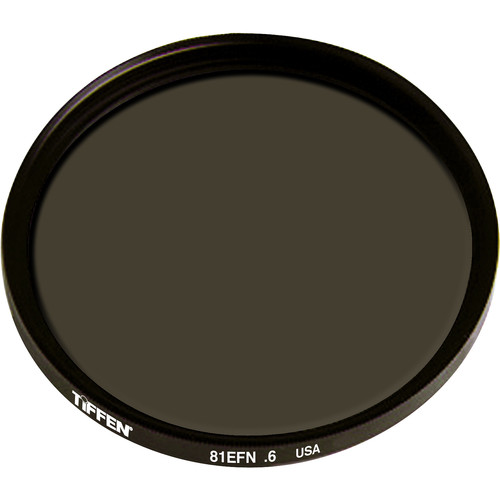 "Tiffen 4.5"" Round Combination Light Balancing 81EF/Neutral Density (ND) 0.6 Glass Filter"