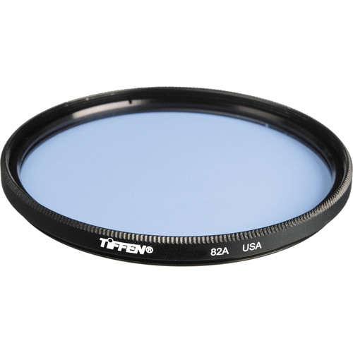 "Tiffen 4.5"" Round 82A Light Balancing Filter"