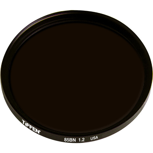 """Tiffen 4.5"""" Round Combination 85B/ND 1.2 Filter (4-Stop)"""