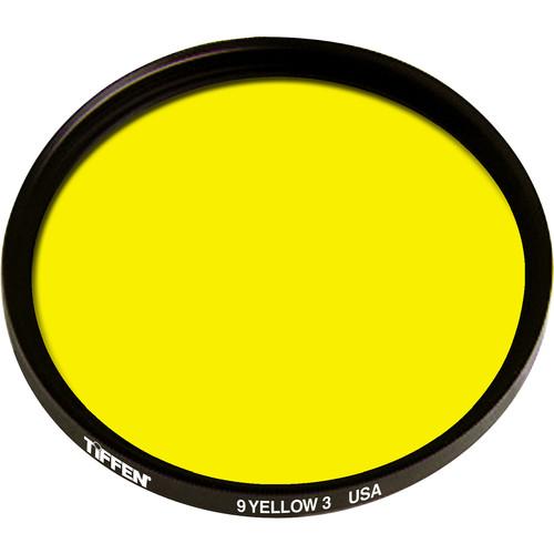 "Tiffen 4.5"" #9 (3) Yellow Filter"