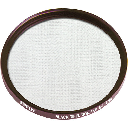 "Tiffen 4.5"" Round Black Diffusion/FX 1/4 Filter"