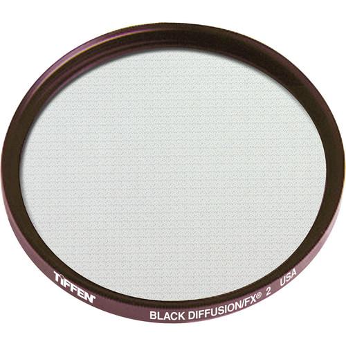 "Tiffen 4.5"" Round Black Diffusion/FX 2 Filter"