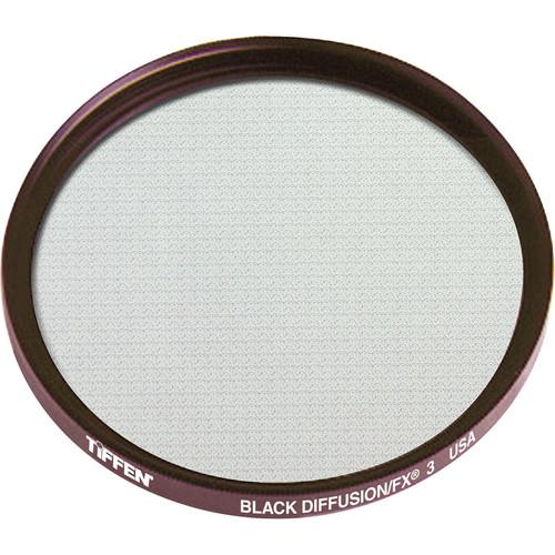 "Tiffen 4.5"" Round Black Diffusion/FX 3 Filter"
