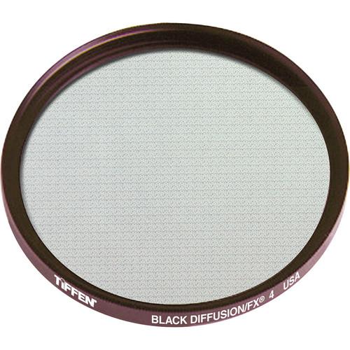 "Tiffen 4.5"" Round Black Diffusion/FX 4 Filter"