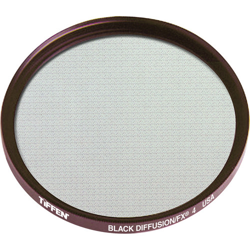 "Tiffen 4.5"" Round Black Diffusion/FX 4 Filter"