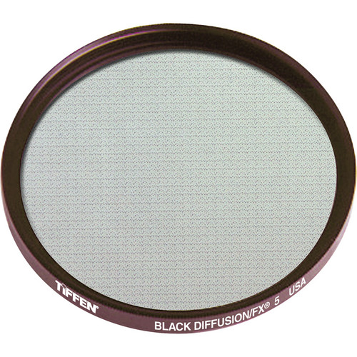 "Tiffen 4.5"" Round Black Diffusion/FX 5 Filter"