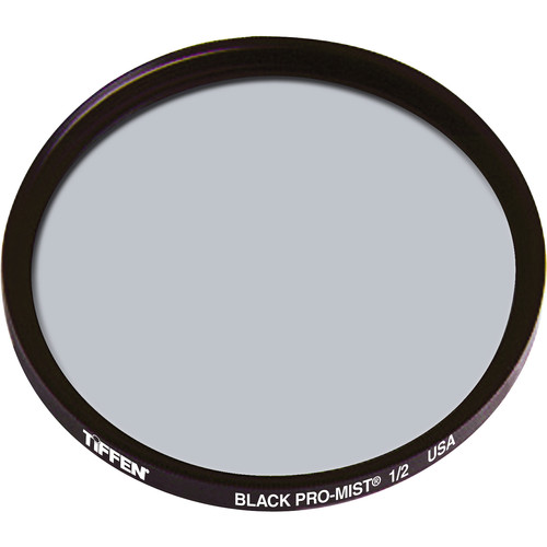 """Tiffen 4.5"""" Round Black Pro-Mist 1/2 Filter"""