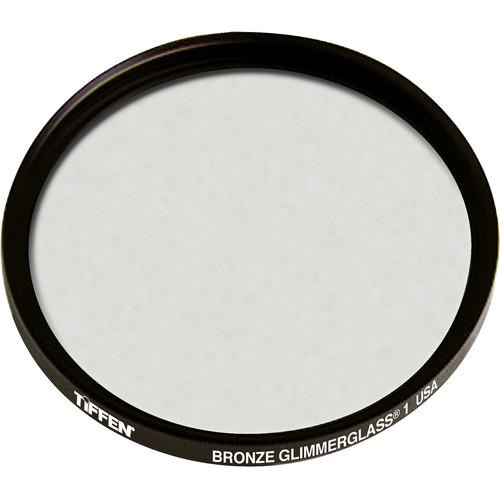 """Tiffen 4.5"""" Round Bronze Glimmerglass 1 Filter"""