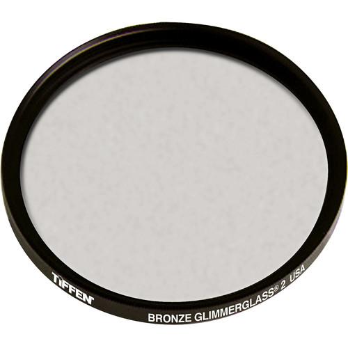 """Tiffen 4.5"""" Round Bronze Glimmerglass 2 Filter"""