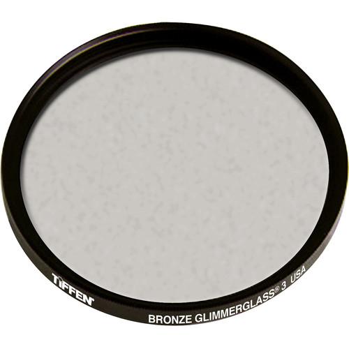 """Tiffen 4.5"""" Round Bronze Glimmerglass 3 Filter"""