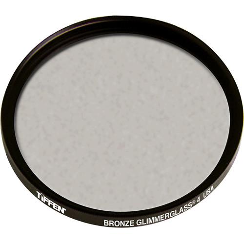 """Tiffen 4.5"""" Round Bronze Glimmerglass 4 Filter"""