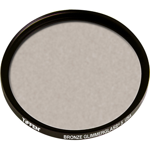 """Tiffen 4.5"""" Round Bronze Glimmerglass 5 Filter"""