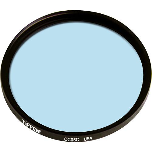 """Tiffen 4.5"""" Round CC05C Cyan Filter"""