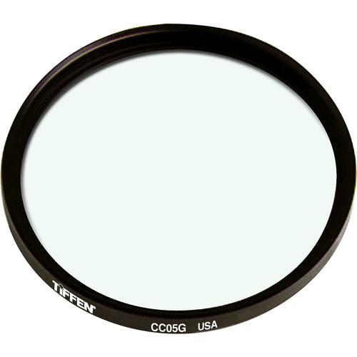 """Tiffen 4.5"""" Round CC05G Green Filter"""