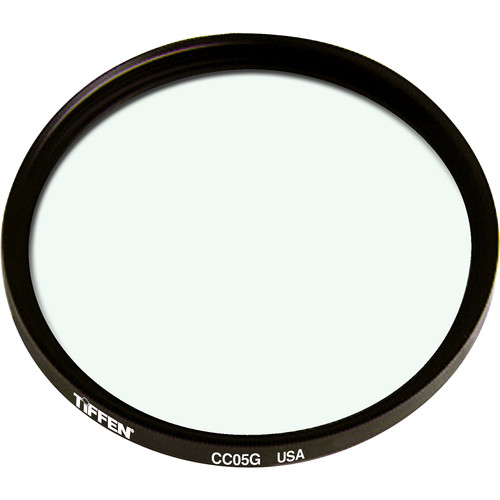 "Tiffen 4.5"" Round CC05G Green Filter"