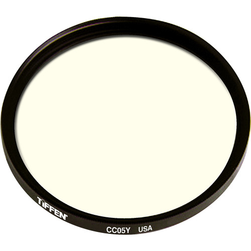 "Tiffen 4.5"" Round CC05Y Yellow Filter"