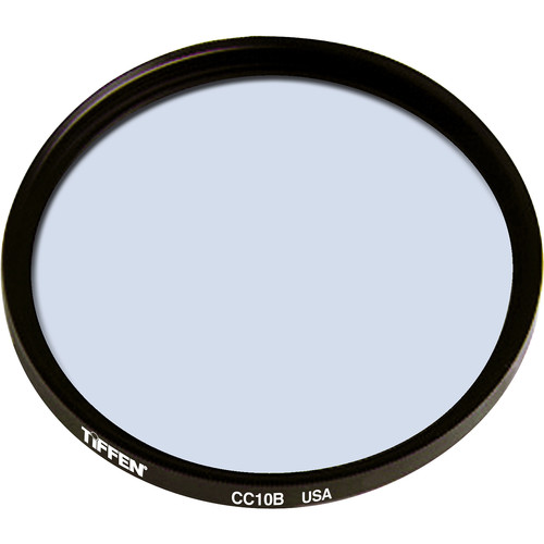 """Tiffen 4.5"""" Round CC10B Blue Filter"""