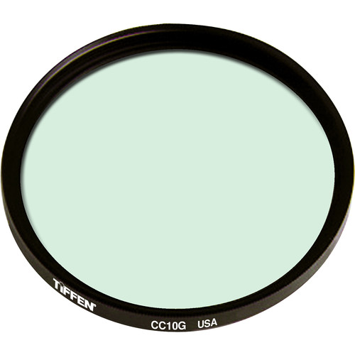 "Tiffen 4.5"" Round CC10G Green Filter"