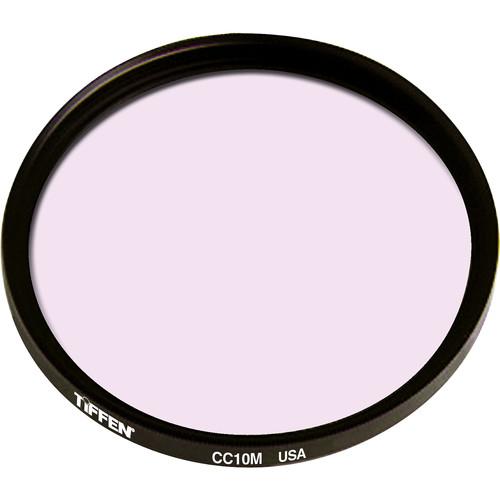 """Tiffen 4.5"""" Round CC10M Magenta Filter"""