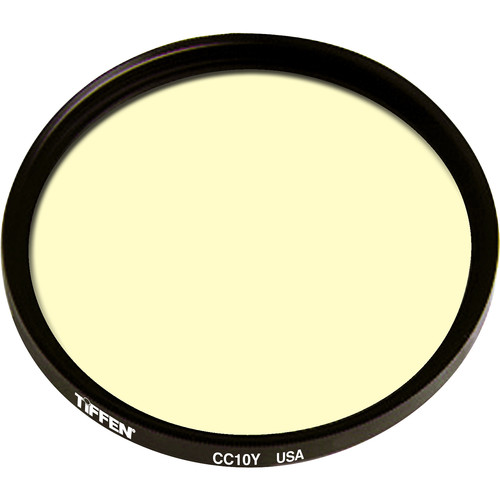"Tiffen 4.5"" Round CC10Y Yellow Filter"