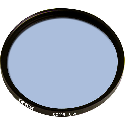 "Tiffen 4.5"" Round CC20B Blue Filter"