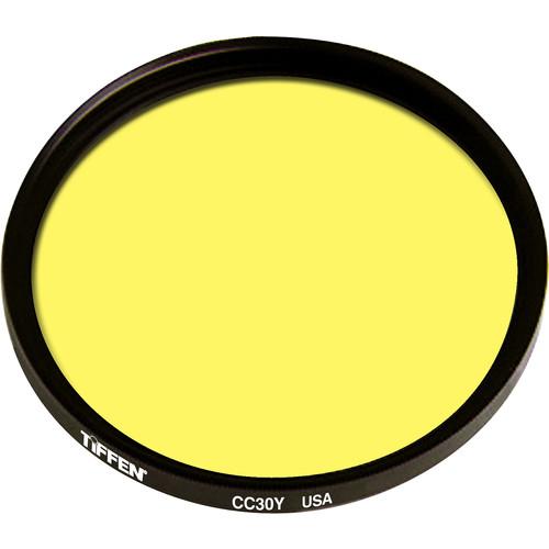 """Tiffen 4.5"""" Round CC30Y Yellow Filter"""