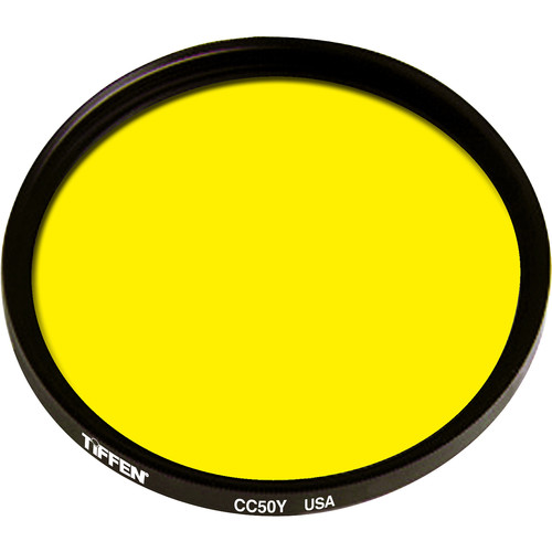 "Tiffen 4.5"" Round CC50Y Yellow Filter"