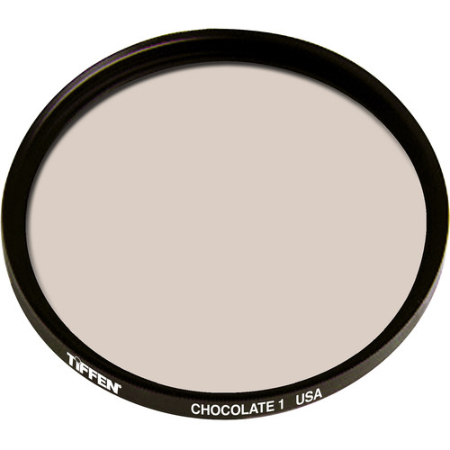 "Tiffen 4.5"" Round 1 Chocolate Solid Color Filter"
