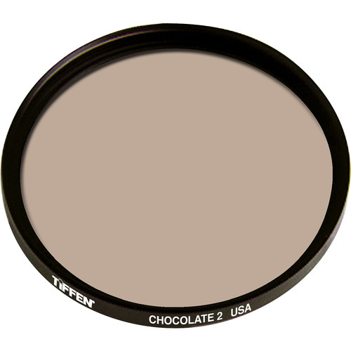 "Tiffen 4.5"" Round 2 Chocolate Solid Color Filter"