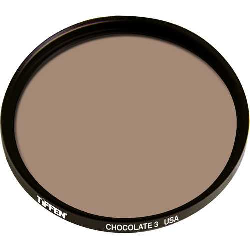 "Tiffen 4.5"" Round 3 Chocolate Solid Color Filter"