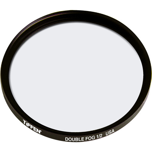 "Tiffen 4.5"" Round Double Fog 1/2 Filter"