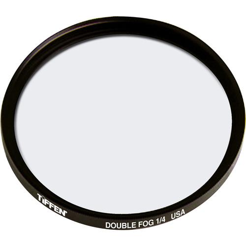 """Tiffen 4.5"""" Round Double Fog 1/4 Filter"""