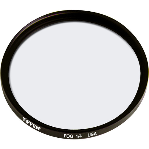 """Tiffen 4.5"""" Round Fog 1/4 Filter"""