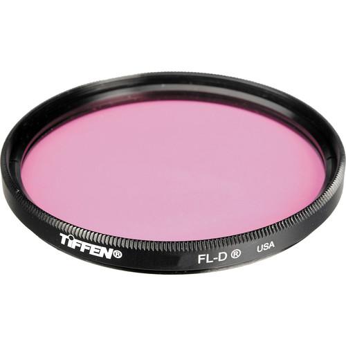 """Tiffen 4.5"""" FL-D Fluorescent Glass Filter for Daylight Film"""
