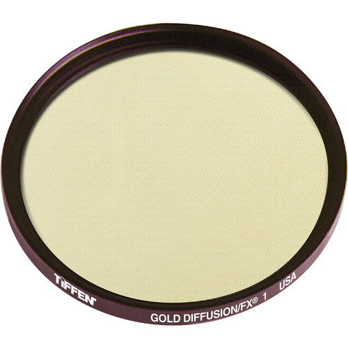 "Tiffen 4.5"" Round Gold Diffusion/FX 1 Filter"