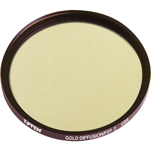 "Tiffen 4.5"" Round Gold Diffusion/FX 2 Filter"