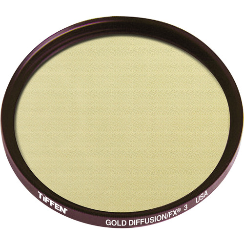 "Tiffen 4.5"" Round Gold Diffusion/FX 3 Filter"