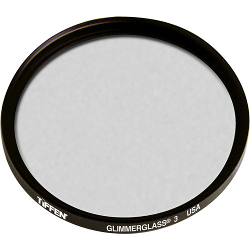 """Tiffen 4.5"""" Round Glimmerglass 3 Filter"""