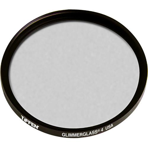 """Tiffen 4.5"""" Round Glimmerglass 4 Filter"""