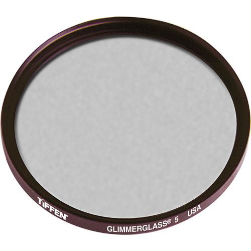 """Tiffen 4.5"""" Round Glimmerglass 5 Filter"""