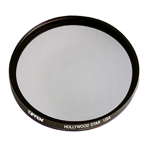 "Tiffen 4.5"" Round Hollywood Star Effect Filter (Drop-in)"