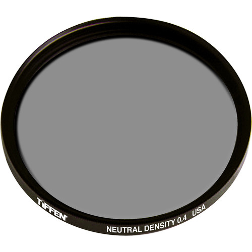 "Tiffen 4.5"" Round ND 0.4 Filter (1.3-Stop)"