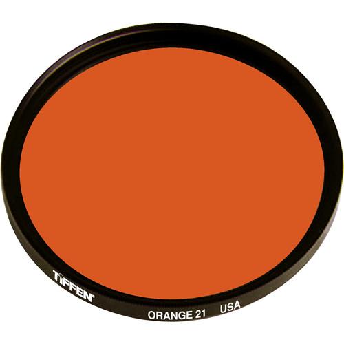 "Tiffen #21 Orange Filter (4.5"", Non-Threaded)"
