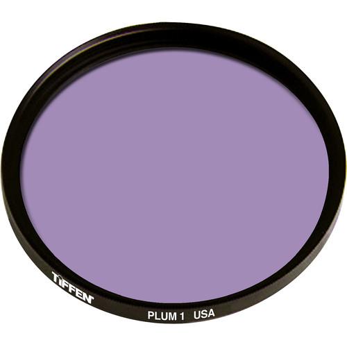 """Tiffen 4.5"""" Round 1 Plum Solid Color Filter"""